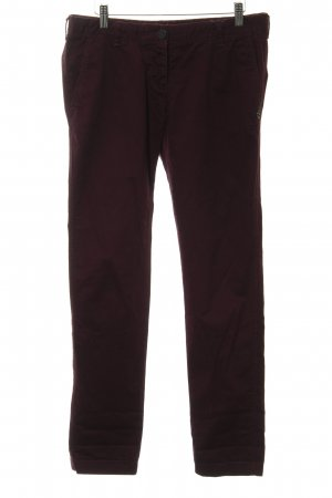 Maison Scotch Stoffhose brombeerrot Casual-Look