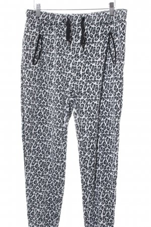 Maison Scotch Stoffhose Leomuster Animal-Look