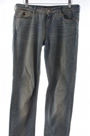 Maison Scotch Straight-Leg Jeans blassblau Casual-Look