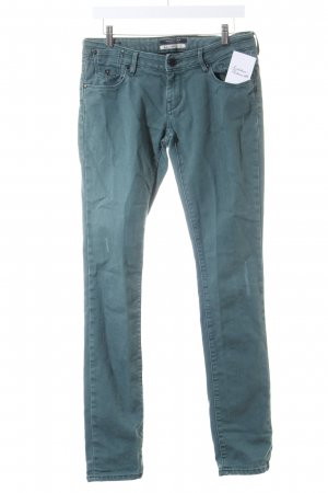 Maison Scotch Straight-Leg Jeans grün Casual-Look