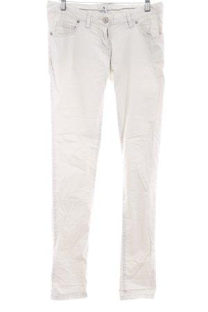 Maison Scotch Straight-Leg Jeans hellbeige schlichter Stil