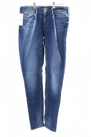 Maison Scotch Stretch Jeans blau Used-Optik