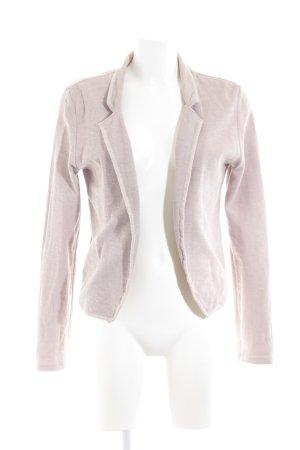 Maison Scotch Blazer in maglia rosa antico stile casual