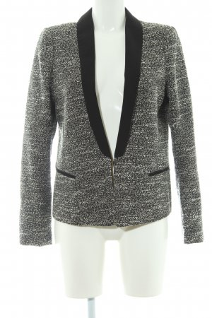 Maison Scotch Blazer tejido moteado look casual