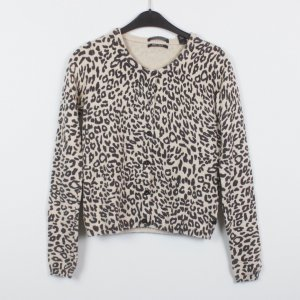 Maison Scotch Strickjacke Gr. XS Leopardenmuster (19/12/107)