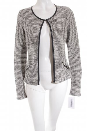 Maison Scotch Strickjacke mehrfarbig Metallelemente