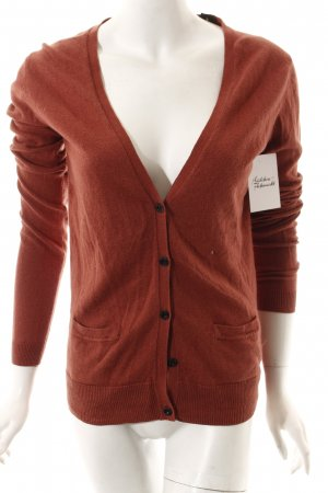Maison Scotch Strickjacke rostrot Casual-Look