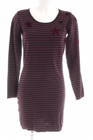 Maison Scotch Strickkleid Sternenmuster Casual-Look