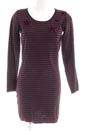 Maison Scotch Gebreide jurk Sterrenpatroon casual uitstraling