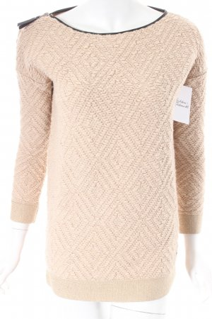 Maison Scotch Strickpullover beige Casual-Look
