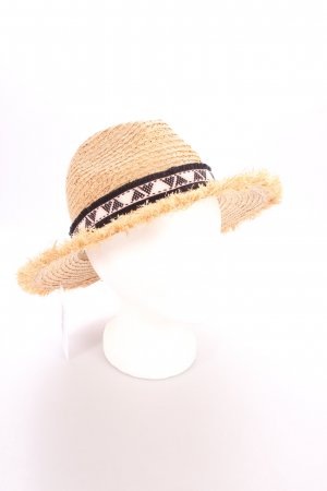 Maison Scotch Strohhut Aztekenmuster Beach-Look
