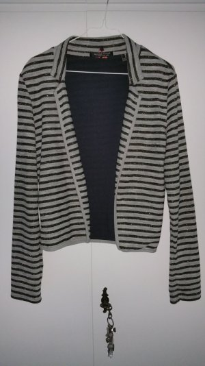Maison Scotch Sweatblazer gestreift