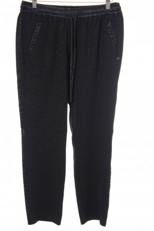 Maison Scotch Pantalone fitness nero stile casual