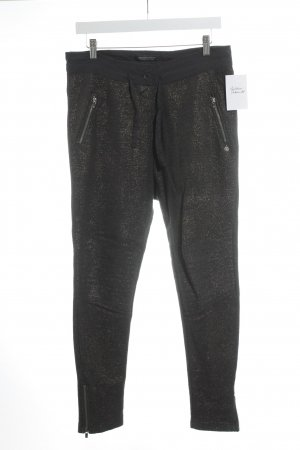 Maison Scotch Sweat Pants taupe-bronze-colored glittery