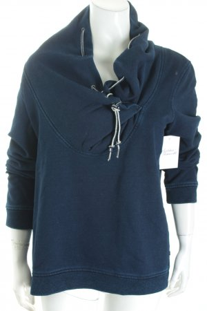 Maison Scotch Sweatshirt dunkelblau Casual-Look