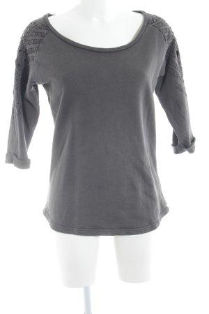 Maison Scotch Sweat Shirt dark grey casual look
