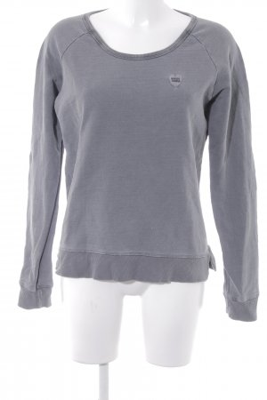 Maison Scotch Sweatshirt grau Casual-Look