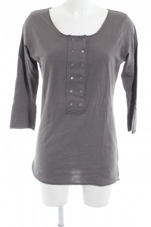 Maison Scotch Sweatshirt graubraun Casual-Look