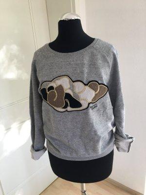 Maison Scotch Sweatshirt in grau