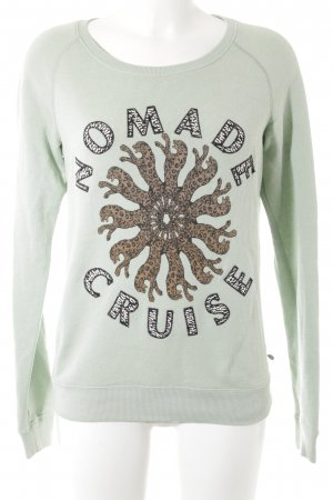 Maison Scotch Sweatshirt Motivdruck Casual-Look