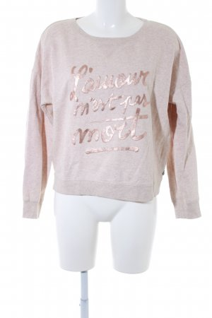 Maison Scotch Sweatshirt nude-roségoldfarben Casual-Look