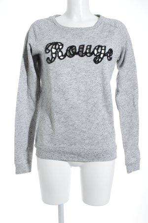 Maison Scotch Sweatshirt Schriftzug gestickt Casual-Look