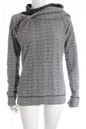 Maison Scotch Sweatshirt weiß-schwarz Casual-Look