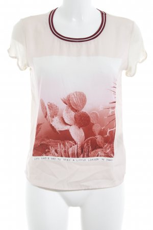 Maison Scotch T-Shirt creme Casual-Look