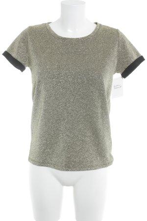 Maison Scotch T-shirt oro-nero elegante
