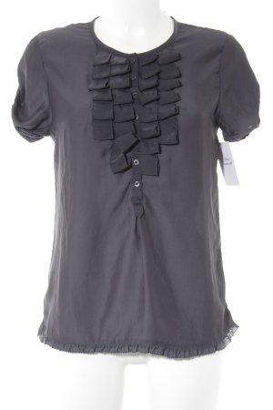 Maison Scotch T-Shirt graublau-dunkelblau Casual-Look