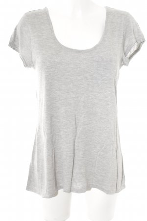 Maison Scotch T-Shirt hellgrau Casual-Look