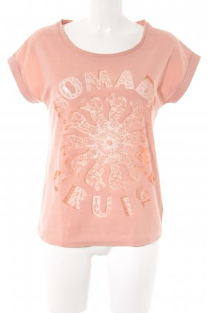 Maison Scotch T-Shirt hellrosa Casual-Look