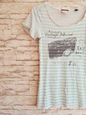 Maison Scotch T-Shirt Kamera Vintage