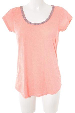 Maison Scotch T-Shirt neonpink Casual-Look