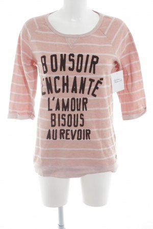 Maison Scotch T-Shirt Schriftzug gedruckt Casual-Look
