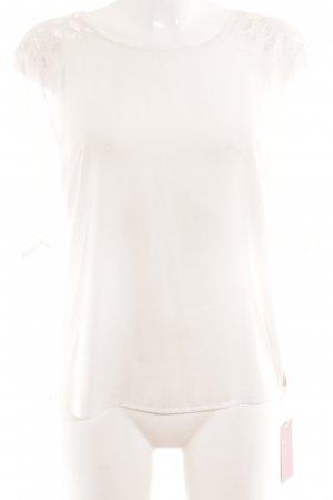 Maison Scotch T-Shirt weiß Aztekenmuster Casual-Look