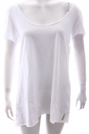 Maison Scotch T-Shirt weiß Casual-Look