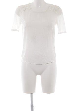 Maison Scotch T-Shirt weiß schlichter Stil