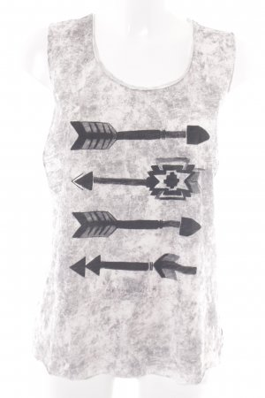 Maison Scotch Tanktop Allover-Druck Casual-Look