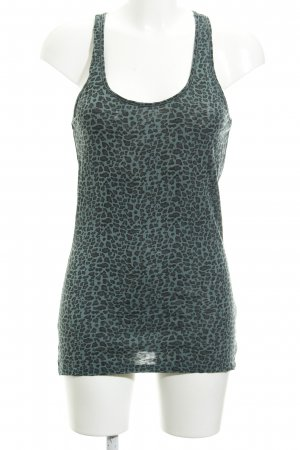 Maison Scotch Tanktop Leomuster Casual-Look