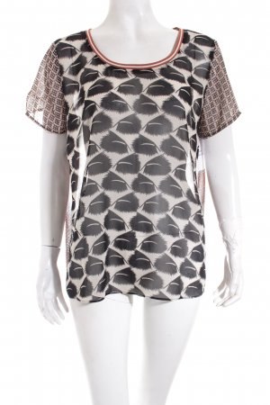 Maison Scotch Top abstraktes Muster Casual-Look