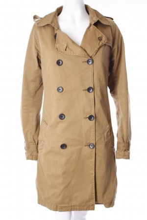 Maison Scotch Trenchcoat sandbraun Street-Fashion-Look