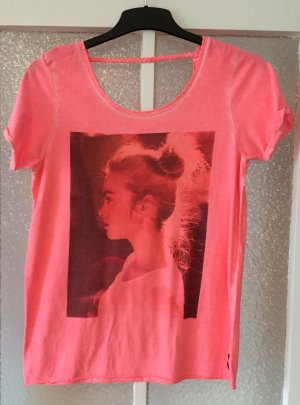 Maison Scotch Tshirt neon 2