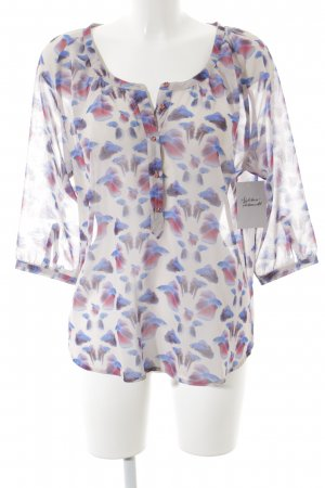 Maison Scotch Tunikabluse Allover-Druck Casual-Look