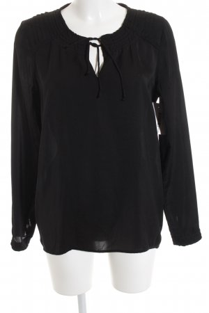 Maison Scotch Tunikabluse schwarz Casual-Look