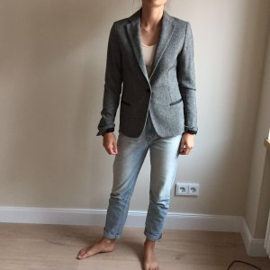 Maison Scotch Tweed Blazer, Wolle, Gr. 1