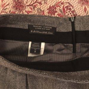 Maison Scotch Tweed Mini raffinierter Schnitt 36/38