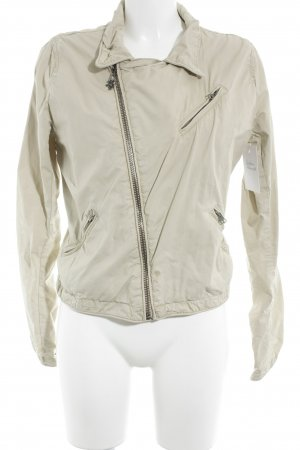 Maison Scotch Übergangsjacke creme Street-Fashion-Look
