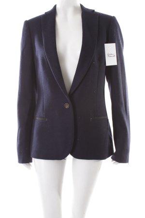 Maison Scotch Woll-Blazer dunkelblau klassischer Stil
