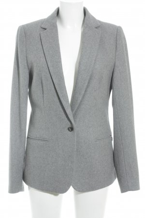 Maison Scotch Woll-Blazer hellgrau Business-Look